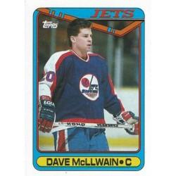 1990-91 Topps c. 299 Dave McLlwain WIN