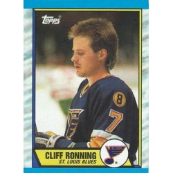 1989-90 Topps c. 045 Cliff Ronning STL