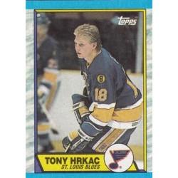 1989-90 Topps c. 064 Tony Hrkac STL
