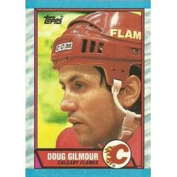 1989-90 Topps c. 074 Doug Gilmour CGY
