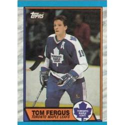 1989-90 Topps c. 103 Tom Fergus TOR