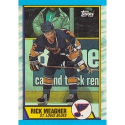 1989-90 Topps c. 116 Rick Meagher STL