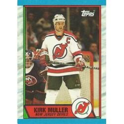 1989-90 Topps c. 117 Kirk Muller NJD