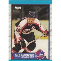 1989-90 Topps c. 122 Dale Hawerchuk WIN