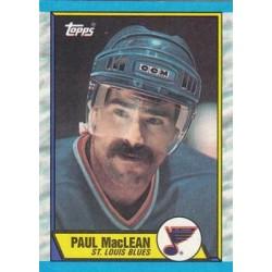 1989-90 Topps c. 129 Paul MacLean STL