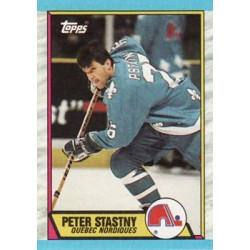 1989-90 Topps c. 143 Peter Stastny QUE
