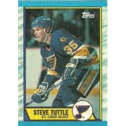 1989-90 Topps c. 157 Steve Tuttle STL