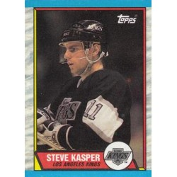 1989-90 Topps c. 194 Steve Kasper LAK