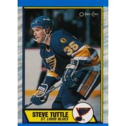 1989-90 O-Pee-Chee c. 157 Steve Tuttle STL