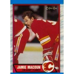 1989-90 O-Pee-Chee c. 207 Jamie Macoun CGY