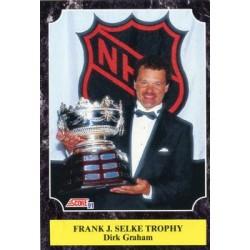 1991-92 Score Canadian English c. 322 Dirk Graham CHI