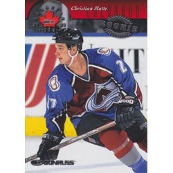 1997-98 Canadian Ice c. 137 Christian Matte COL