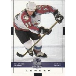 1999-00 Wayne Gretzky Hockey c. 047 Chris Drury COL