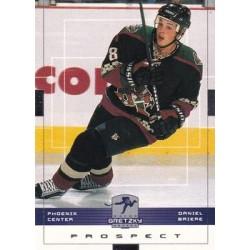 1999-00 Wayne Gretzky Hockey c. 131 Daniel Briere PHX