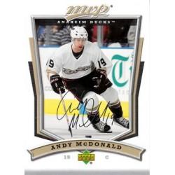 2007-08 MVP c. 109 Andy McDonald