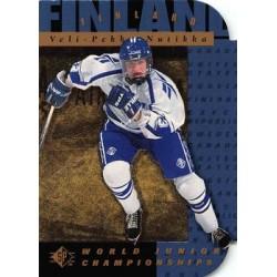 1994-95 SP Die Cut c. 159 Veli-Pekka Nutikka FIN