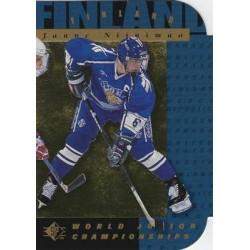 1994-95 SP Die Cut c. 162 Janne Niinimaa FIN