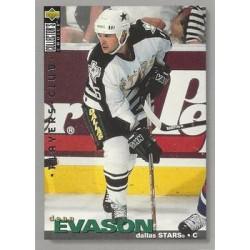 1995-96 Collectors Choice Players Club c. 307 Dean Evason DAL