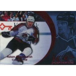 1997-98 Ice Performers c. 18 Adam Deadmarsh COL