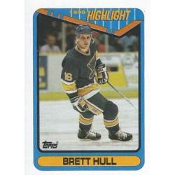 1990-91 Topps c. 004 Brett Hull STL