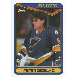1990-91 Topps c. 015 Peter Zezel STL
