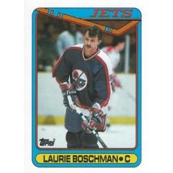 1990-91 Topps c. 039 Laurie Boschman WIN