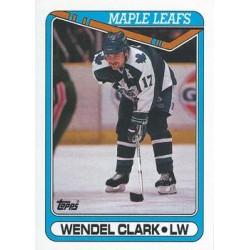 1990-91 Topps c. 079 Wendel Clark TOR