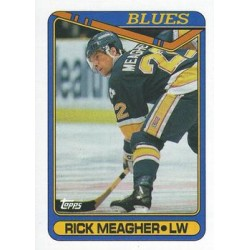 1990-91 Topps c. 125 Rick Meagher STL