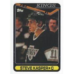 1990-91 Topps c. 153 Steve Kasper LAK