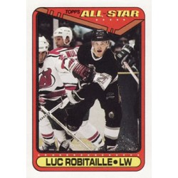 1990-91 Topps c. 194 Luc Robitaille LAK
