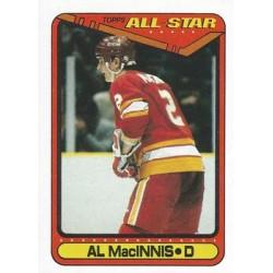 1990-91 Topps c. 197 Al MacInnis CGY