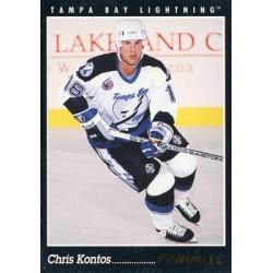 1993-94 Pinnacle c. 008 Chris Kontos TBL