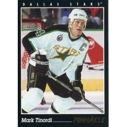 1993-94 Pinnacle c. 016 Mark Tinordi DAL