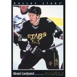 1993-94 Pinnacle c. 413 Grant Ledyard DAL