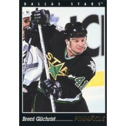 1993-94 Pinnacle c. 415 Brent Gilchrist DAL