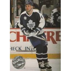 1991-92 Pro Set Platinum c. 116 Dave Ellett TOR