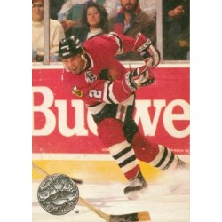 1991-92 Pro Set Platinum c. 164 Brent Sutter CHI