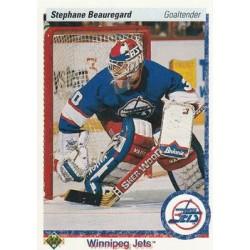 1990-91 Upper Deck (1991 text hologram) c. 415 Stephane Beauregard WIN