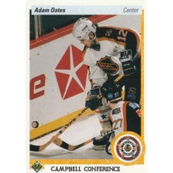 1990-91 Upper Deck (1991 text hologram) c. 483 Adam Oates STL