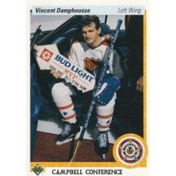 1990-91 Upper Deck (1991 text hologram) c. 484 Vincent Damphousse TOR