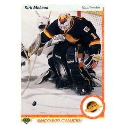 1990-91 Upper Deck (1990 text hologram) c. 278 Kirk McLean VAN