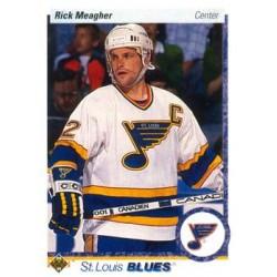 1990-91 Upper Deck (1990 text hologram) c. 285 Rick Meagher STL