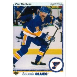 1990-91 Upper Deck (1990 text hologram) c. 330 Paul MacLean STL