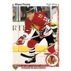 1990-91 Upper Deck (1990 text hologram) c. 339 Wayne Presley CHI