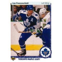 1990-91 Upper Deck (1990 text hologram) c. 396 Lou Franceschetti TOR