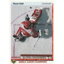 1990-91 Upper Deck (1990 text hologram) c. 463 Trevor Kidd CAN