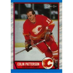 1989-90 O-Pee-Chee c. 071 Colin Patterson CGY