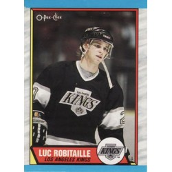 1989-90 O-Pee-Chee c. 088 Luc Robitaille LAK