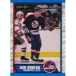 1989-90 O-Pee-Chee c. 293 Iain Duncan WIN