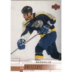 2000-01 Upper Deck c. 098 Rob Valicevic NAS